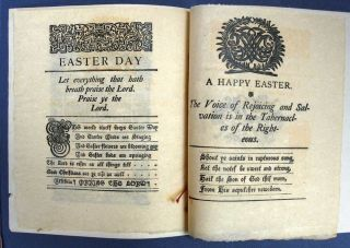 EASTER DAY - PRAISE YE The LORD. 1884.