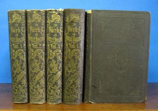 "The COMPLETE WORKS Of CHARLES DICKENS. (""BOZ."") In Five Volumes. Charles . Gaskell Dickens,..."