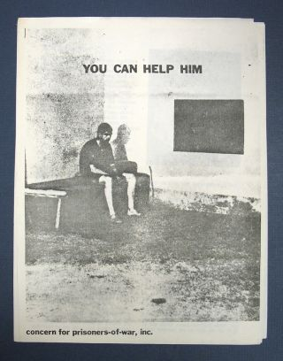 YOU CAN HELP HIM. Inc. - Informational Packet Concern for Prisoners-of-War
