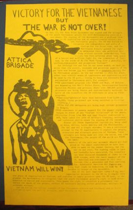 VICTORY For The VIETNAMESE But The WAR Is NOT OVER! Attica Brigade --- Vietnam Will Win! Anti-Vietnam War Propaganda, Anti Imperialist.