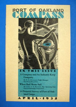 COMPASS. Port of Oakland. Vol. I. No. 4. April, 1932. Aviation History, Hal - Wiltermood