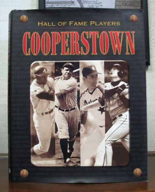 HALL Of FAME PLAYERS: COOPERSTOWN. Paul Adomites, Pete Palmer, Mike Tully, Dick Johnson, Dan...