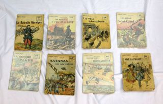 "COLLECTION ""PATRIE"" World War I. Literature, Frederic - Series Rouff"