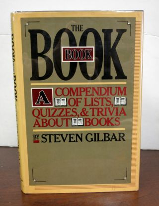 The BOOK BOOK. Steven Gilbar.