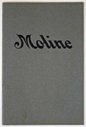 MOLINE AUTOMOBILES. Automobile Advertising Promotional Booklet