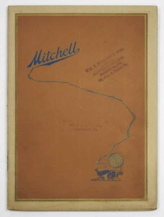 MITCHELL. Eighty Years of Faithful Service to the American Public. Automobile Advertising...
