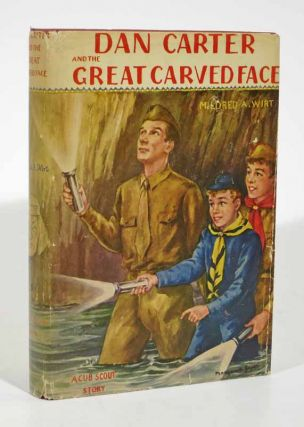 DAN CARTER And The GREAT CARVED FACE. The Dan Carter Series #5. Mildred A. Wirt