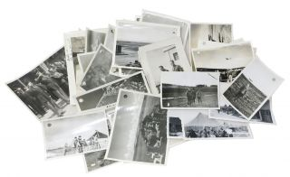 """""""FLYING BACKWARDS"""", A World War II Scrapbook & Remembrance. [accompanied by] An ARCHIVE Of 100 WWII PHOTOGRAPHS."""