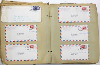 LARGE ARCHIVE Of U. S. MARINE CORPS MAJOR'S LETTERS And EPHEMERA, 1955 - 1956. Korea/Japan Military correspondence, 1916 - ?, Ray W. Arnold.