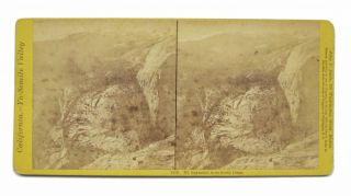 CALIFORNIA -- YO - SEMITE VALLEY. Mt. Raymond from South Dome. 1170. Stereoview Photograph, John...