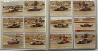 NASCAR WINSTON CUP STOCK CAR RACE - 1981 [accompanied by] GRAND PRIX WEST FORMULA ONE - 1981. Photograph Album, b. 1940, b. 1938, b. 1956, b. 1948, Mario Andretti, Johnny Rutherford, Jan Lammers, Rene - Pictured racers Arnoux.