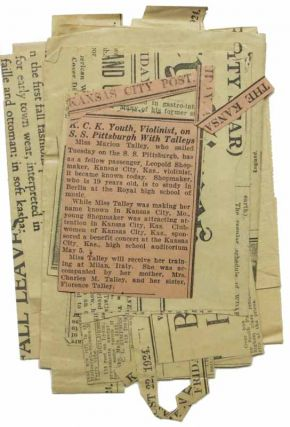 WHITE STAR LINE. S. S. PITTSBURGH. From New York Tuesday, August 19, 1924. To Hamburg via Cherbourg and Southampton. List of Cabin Passengers [accompanied by] PLAN Of CABIN ACCOMMODATION [Oct 1922].