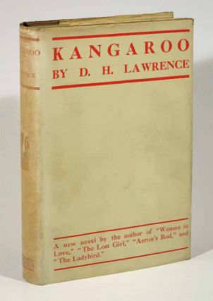 KANGAROO. David. Herbert. 1885 - 1930 Lawrence.