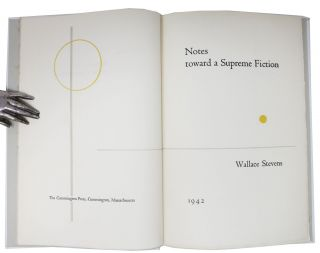 NOTES TOWARD A SUPREME FICTION.