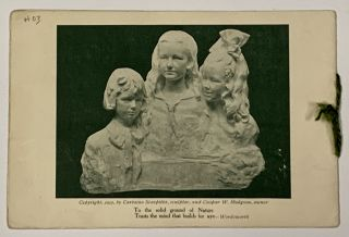 The HODGSON FAMILY WISH YOU HAPPINESS In 1914 And EVER AFTER. From Kanyonkrag at the sign of the stone lanterns on Park Hill in Yonkers-on-Hudson, New York. [cover title]