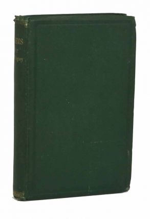 The FOREST PILGRIMS, and Other Poems. Bigney, ark, rederick. 1817 - 1886