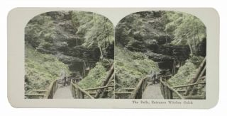 WISCONSIN. The Dells. 142. 25 Views. Colored Stereographs.