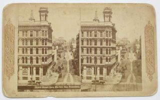 POWELL STREET From MARKET, San Francisco.; Descriptive Views of the American Continent....
