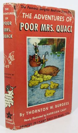 The ADVENTURES Of POOR MRS. QUACK. The Bedtime Story-Books. Thornton W. Burgess