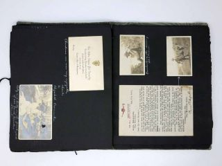 [Scrapbook DOCUMENTING a STATESIDE WORLD WAR I OFFICER'S TRAINING & SERVICE]