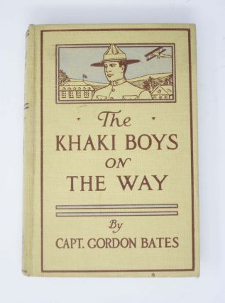 The KHAKI BOYS At The FRONT or Shoulder to Shoulder in the Trenches. The Khaki Boys Series #3.