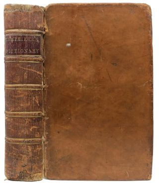 BIBLIOTHECA CLASSICA; or, A Classical Dictionary, Containing A Full Account of all the Proper Names Mentioned in Antient Authors.; To Which are Subjoined, Tables of Coins, Weights, and Measures, In Use among the Greeks and Romans. John Lempriere, c. 1765 - 1824.