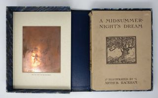 A MIDSUMMER-NIGHT'S DREAM [With ORIGINAL COPPERPLATE ENGRAVING].; With Illustrations By Arthur...