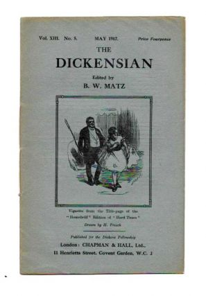 The DICKENSIAN. Vol. XIII. No. 5.; May 1917. B. W. - Matz