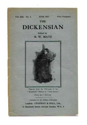 The DICKENSIAN. Vol. XIII. No. 6.; June 1917. B. W. - Matz