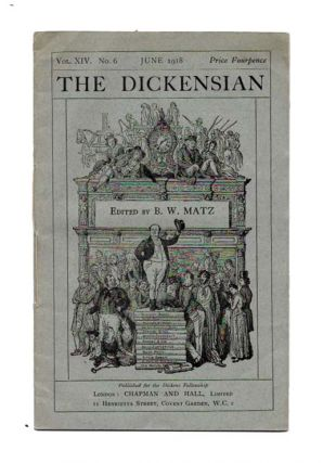 The DICKENSIAN. Vol. XIV. No. 6.; June 1918. B. W. - Matz