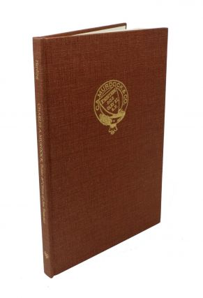 CHARLES A. MURDOCK. Printer & Citizen of San Francisco: An Appraisal. George L. Harding