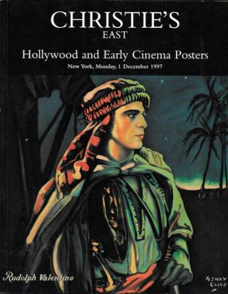 HOLLYWOOD And EARLY CINEMA POSTERS.; New York, Monday, 1 Decemeber 1997. Auction Catalogue