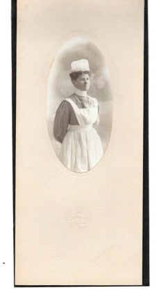 PHOTOGRAPH Of A NURSE. Nursing History