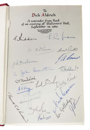 The STATIONERS' COMPANY. A History, 1403 - 1959.