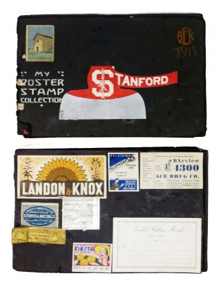 STAMP COLLECTION. Scrapbook