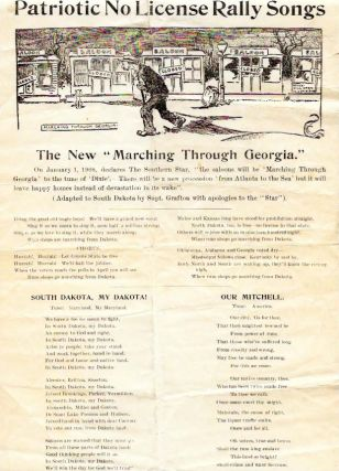 "PATRIOTIC NO LICENSE RALLY SONGS.; The New ""Marching Through Georgia."" Temperance"