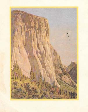 A COLLECTION Of EIGHT MENUS From CAMP CURRY, YOSEMITE NATIONAL PARK.