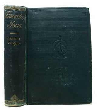 BRAXTON BAR'S. A Tale of Pioneer Years in California. Daggett, Of Nevada, ollin, allory