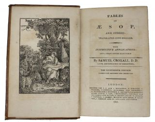 FABLES Of AESOP And Others, Translated Into English.; With Instructive Applications: And a Print Before Each Fable.