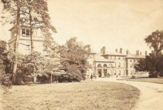 PHOTOGRAPH Of OATLANDS PARK HOTEL. English History