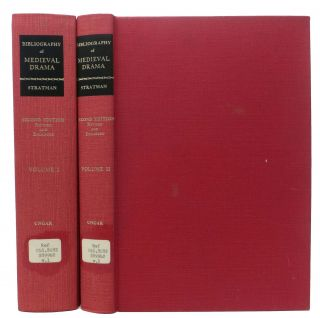 BIBLIOGRAPHY Of MEDIEVAL DRAMA.; Two Volumes.