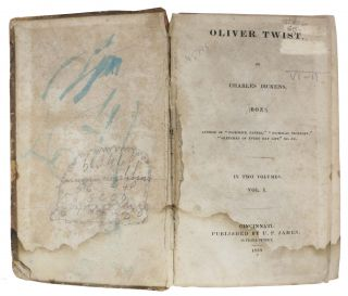 OLIVER TWIST, by Charles Dickens, (BOZ!); In Two Volumes. Vol. I.