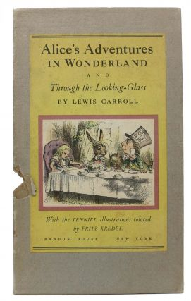 ALICE'S ADVENTURES In WONDERLAND [And] THROUGH The LOOKING GLASS, And What Alice Found There. Two Volumes.