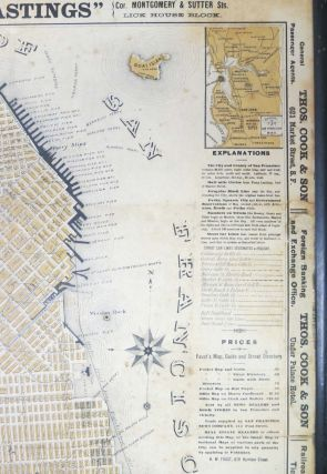 FAUST'S MAP Of CITY And COUNTY Of SAN FRANCISCO CALIFORNIA.