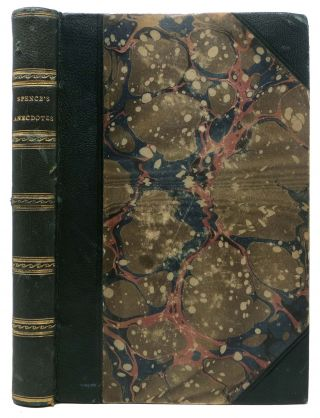 OBSERVATIONS, ANECDOTES, And CHARACTERS, Of BOOKS And MEN.; Arranged with Notes by the Late...