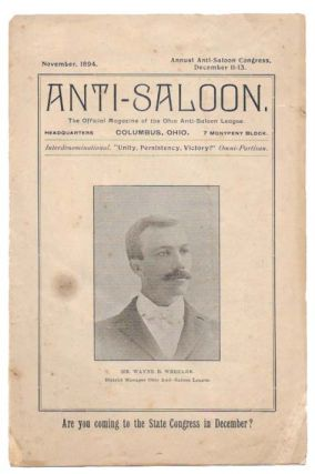 ANTI-SALOON.; The Official Magazine of the Ohio Anti-Saloon League. Temperance