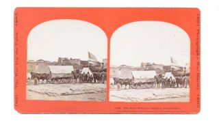 The EVER WELCOME SANITARY COMMISSION. 1199.; Photographic War History. 1861. 1865. Stereoview Photograph.