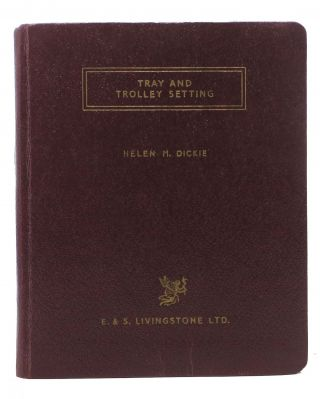 POCKET BOOK On TRAY And TROLLEY SETTING.; Foreword by McInroy, I. G. Helen M. McInroy Dickie, I....