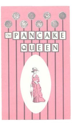 The PANCAKE QUEEN.; 4211 Telegraph Avenue - Oakland, California. Ca. Restaurant Menu - Oakland