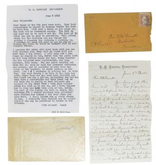 AUTOGRAPH LETTER Signed [on] U. S. SANITARY COMMISSION Letterhead.; Addressed to Rev. E....
